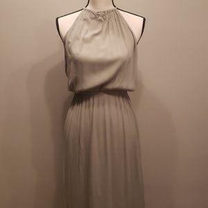 NWOT Sage green maxi dress